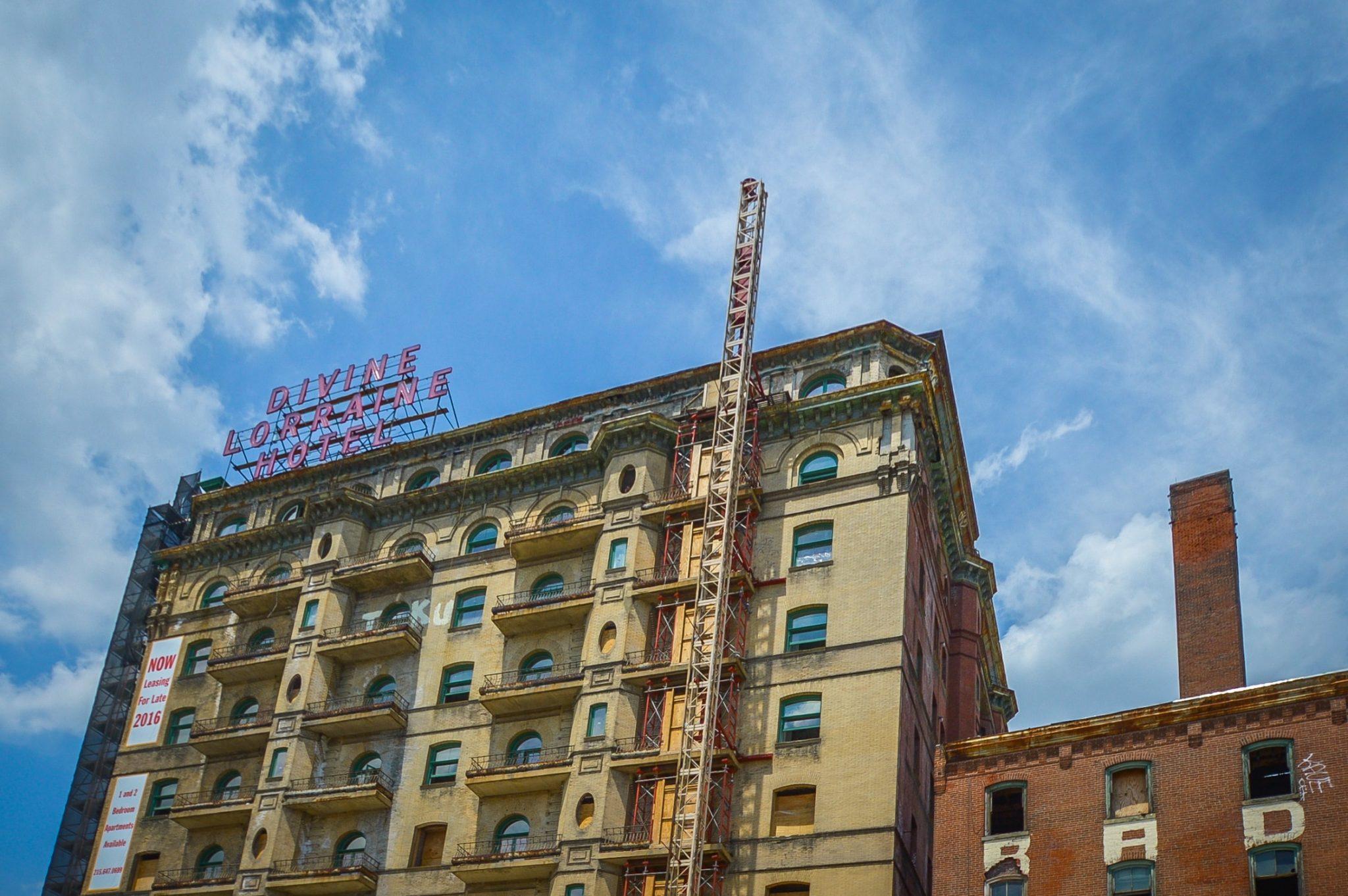 The Divine Lorraine Hotel Live In A Landmark
